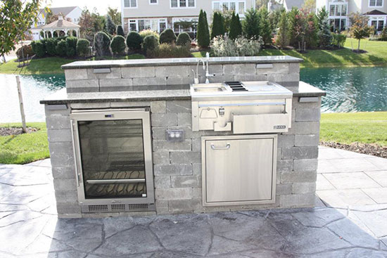 Outdoor Kitchen on Long Island