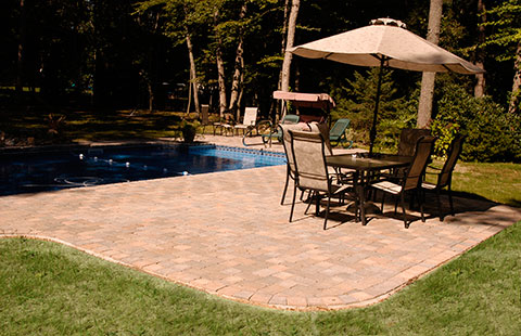 brick patio long island